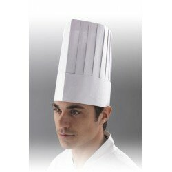 CHEF's HAT WHITE 200mm x 50