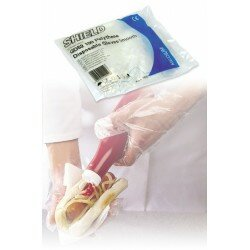 DELI POLYTHENE DISPOSABLE GLOVES 100 x100