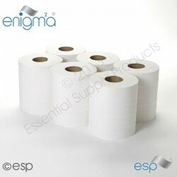 CENTREFEED ROLLS WHITE 2Ply 150Mtr x 6
