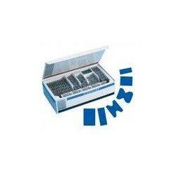 BLUE WATERPROOF ASSORTED HYPOALLERGENIC PLASTERS x 100