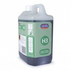JEYES H3 GLASS & MULTI-SURFACE CLEANER SUPER CONCENTRATE 2Ltr x 2