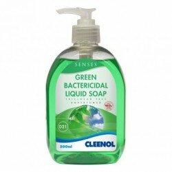 SENSES GREEN BACTERICIDAL HAND SOAP 500ml x 6
