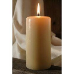 PILLAR CANDLE 60mm x 170mm 46 HOUR x 4