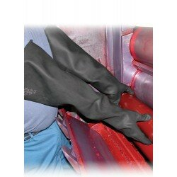 ELBOW GAUNTLET GLOVES Size 10 - PAIR