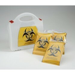 BIOHAZARD CLEAN-UP KIT (TWO APPLICATIONS)