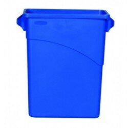Slim Jim Container 60 Litre Blue Recycling