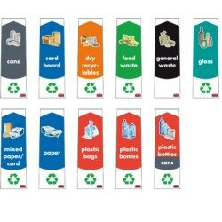 PICTOGRAM FOR RECYCLING CONTAINERS