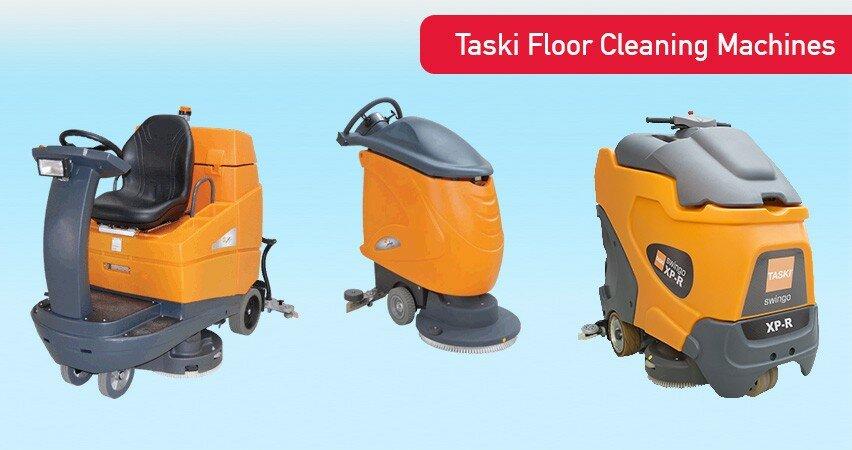 Taski Floor Cleaning Machine